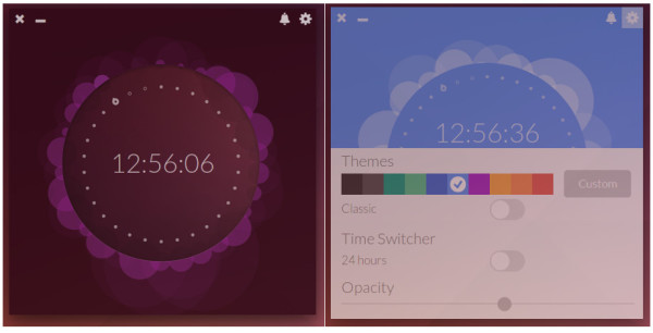 Up Clock on Ubuntu