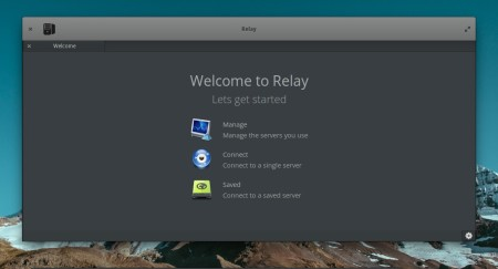 Relay IRC start window