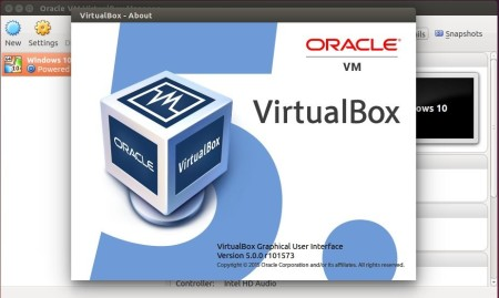 virtualbox 5.0 in Ubuntu 14.04