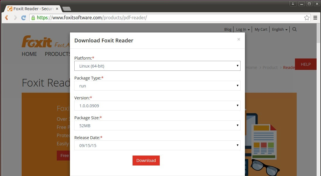 pdf foxit reader download gratis