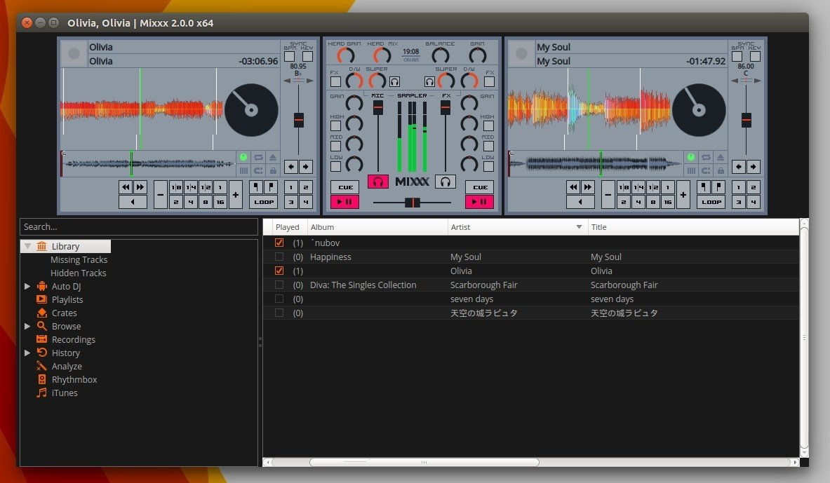 Install Free DJ Software Mixxx 2 0 in Ubuntu 15 10, 14 04, 12 04