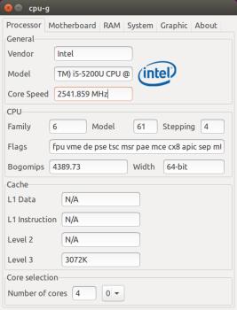 CPU-G processor