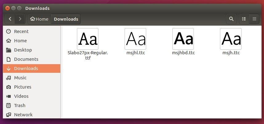 How to Manually Install Fonts in Ubuntu 16 04 | UbuntuHandbook