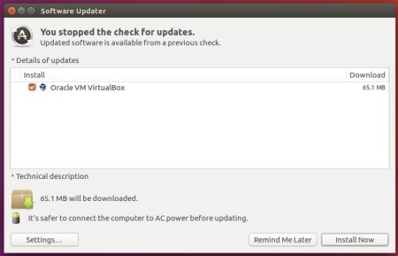 upgrade virtualbox