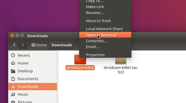 How to Install Wireless Webcam App 'DroidCam' in Ubuntu