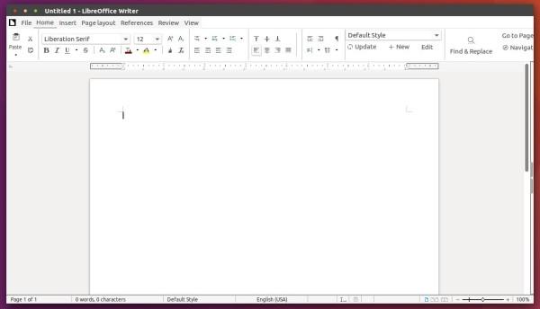 LibreOffice 5.3 'Ribbon' UI