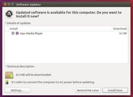 How to Install MPV 0 28 0 in Ubuntu 18 04, 16 04