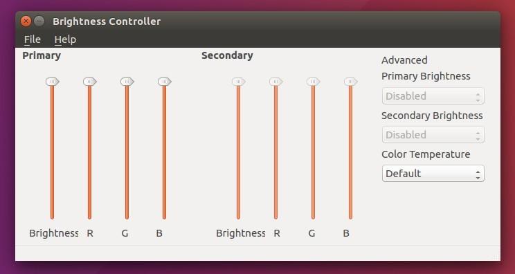 Install Brightness Controller Utility in Ubuntu 16 04