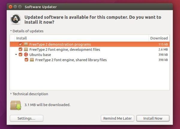 How to Install FreeType 2 8 in Ubuntu 16 04, 17 04 | UbuntuHandbook