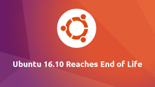 Ubuntu 16.10 End of Life
