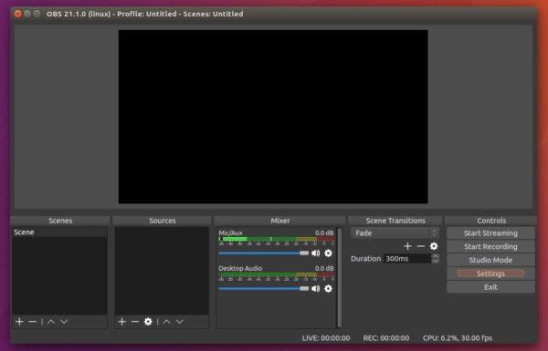 How to Install OBS Studio 21 1 in Ubuntu 18 04/16 04 | UbuntuHandbook