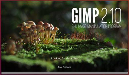 GIMP 2.10 Splash