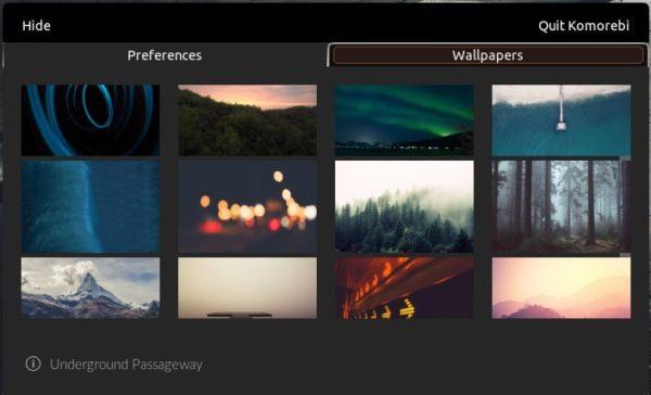 Ubuntu desktop settings wallpaper