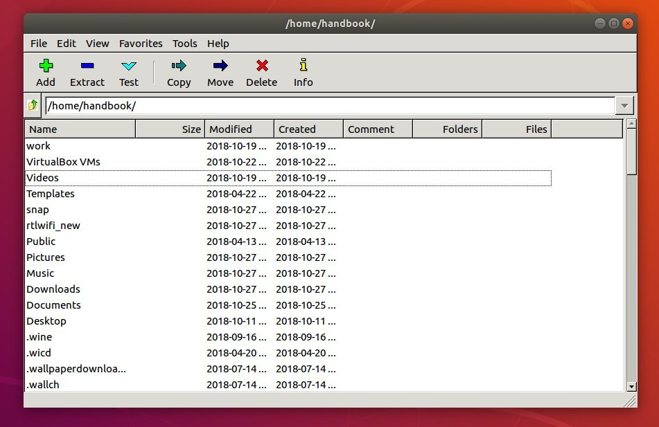 P7Zip Desktop Available to Install via Snap in Ubuntu 18 04