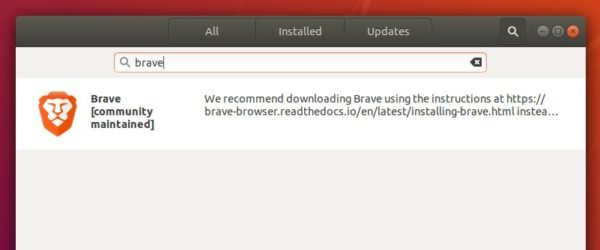 How to Install Brave web browser in Ubuntu / Linux Mint