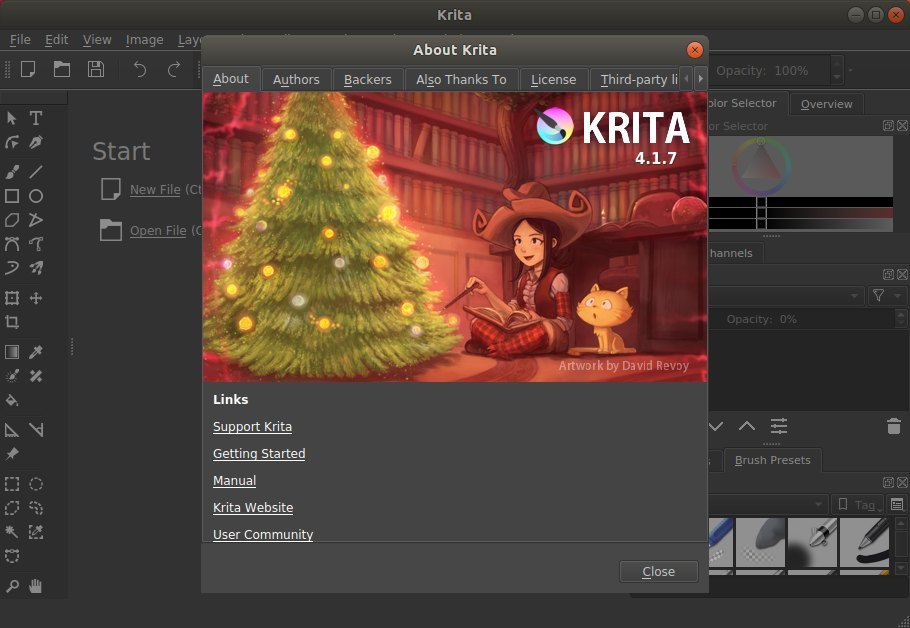 Krita 4 1 7 Released with HiDPI Support Enabled by Default