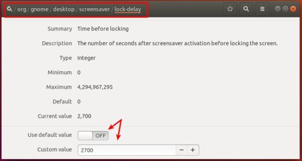 How to Set Custom Blank Screen / Lock Screen Time in Ubuntu
