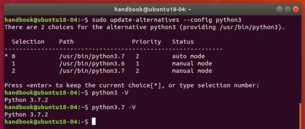 How to Install Python 3 7 2 in Ubuntu 18 04 / 18 10