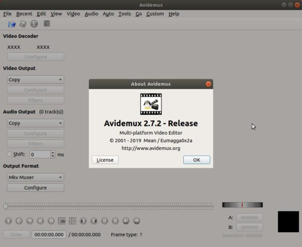 Avidemux 2 7 2 Released! How to Install it in Ubuntu 18 04