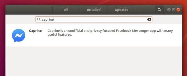 How to Install Facebook Messenger 'Caprine' in Ubuntu 18 04