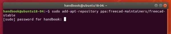 How to Install FreeCAD 0 18 in Ubuntu 18 04 / 16 04 | UbuntuHandbook