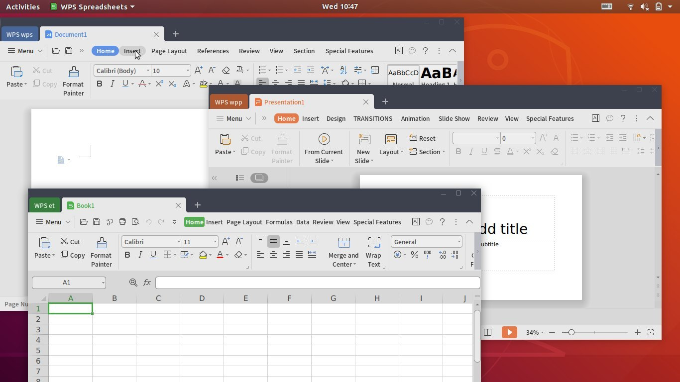 WPS Office 2019 For Linux Released with Improved HiDPI