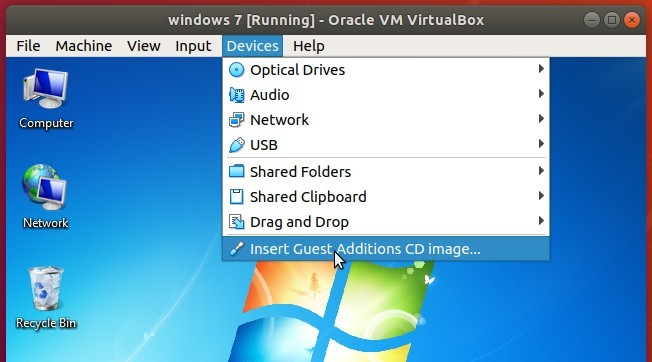 Virtualbox: Share A Folder in Ubuntu Host to Windows Guest