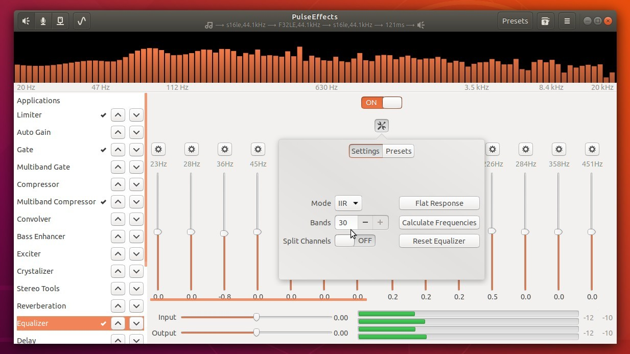 How to Install Audio Effects Tool PulseEffects in Ubuntu