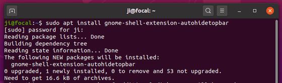 Enable Top Panel Auto-Hide in Ubuntu 20.04 Gnome Desktop ...